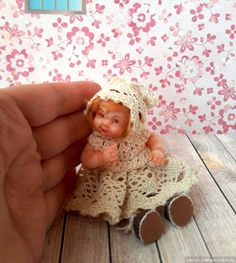 Милые пупсятки моего производства / Мини куклы / Бэйбики. Куклы фото. Одежда для кукол