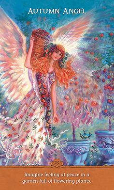 Inspirational Wisdom from Angels and Fairies Gorgeous artwork by #JudyMastrangelo #angels