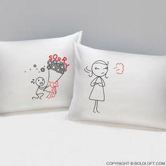 Forgive Me Please!™ Couple Pillowcases