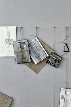 {hanging by a thread} Méchant Design #display #propstyling #moodboard