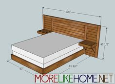 this bed! shutters on the headboard to serve as a vent.
