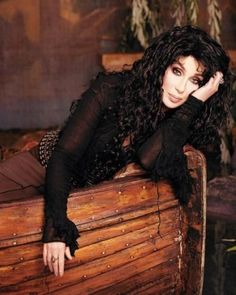 Cher. I have always loved her! Ever since I watched Sonny and Cher! She has evolved and adapted to the times like no other performer!