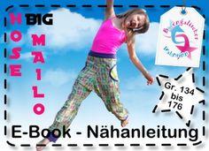 "Ebook ""Hose BIG MAILO"" Gr. 134 - 176 Schnittmuster"