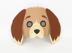 faschingsmaske hund einfache bastelidee f r kindermasken basteln fasching masken kost me. Black Bedroom Furniture Sets. Home Design Ideas