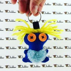 Little Dude, Mini keychain, Chubbee Doll, Kawaii, Plush Stuffed Creature, Handmade by LondonsKingdom on Etsy