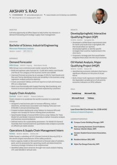 Minimalist resume examples to make your resume professional. All of these visual CV examples come with a matching cover letter and reference page. Resume Pdf, Student Resume Template, Best Resume Template, Job Resume, Resume Format, Basic Resume Examples, Professional Resume Examples, Professional Development, Mechanical Engineer Resume