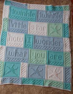 (4) Name: 'Crocheting : TWINKLE crocheted blanket