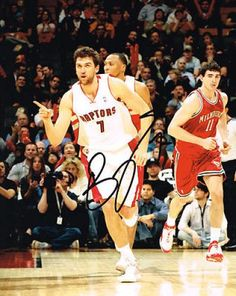 Andrea Bargnani Signed 8x10 Photo #SportsMemorabilia #TorontoRaptors