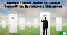 Esol Tutor Sample Resume How To Use Student Teacher Internship Experience In A New Teacher .