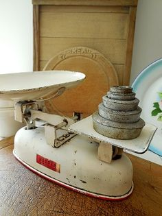 LAVENDER HOUSE VINTAGE - For all things authentically chic & shabby - scales and weights - still available, will deliver- xmas pressie?.