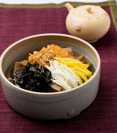 묵밥,묵국수