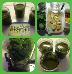 Day #1 - JJ Smith 10-Day Green Smoothie Cleanse.  I refuse to take prescribed medication for anything before trying a natural fix to detox and balance the natural flow of my body. Here goes....