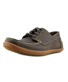 new product 5dfdd f32fc TIMBERLAND TIMBERLAND ODELAY 4 EYE CAMP MOC TOE LEATHER BOAT SHOE .   timberland  shoes  oxfords