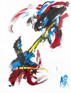 Original Abstract Painting by Alexis Reynaud Abstract Expressionism, Abstract Art, Original Art, Original Paintings, Musashi, Buy Art, Samurai, Saatchi Art, Asia