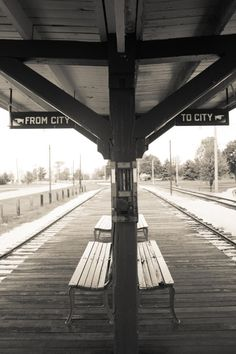 Chicago photography, Vintage CTA Chicago train stop, Photograph etsy wall art chicago art train art boys room decor Chicago Photography, Vintage Photography, Art Photography, Night Photography, Bodega Hotel, Trains, Old Train Station, Train Stations, Train Platform