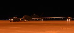 An RQ-4 Global Hawk is towed off the runway after landing at Misawa Air Base, Japan, July 2, 2015. This is one of several Global Hawks to arrive at Misawa for a summer to winter rotation. The aircraft will begin local area checks before its first operational flight in early July. (U.S. Air Force photo by Staff Sgt. Alyssa C. Gibson)
