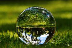 Garden, Glass Ball, Mirroring, Meadow, Garden #garden, #glassball, #mirroring, #meadow, #garden