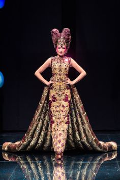asian couture designers | My favourite is the last dress shown. For some reason, the dress gives ...