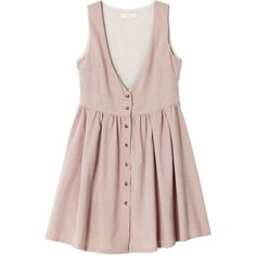 【green】ピーチ起毛ワンピース ❤ liked on Polyvore featuring dresses, green dress, green day dress and pink dress