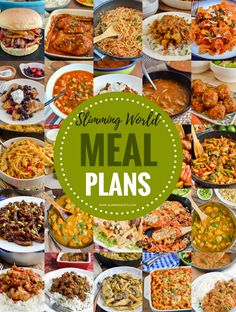 Slimming Eats - healthy delicious pasta recipes - Slimming World, Weight Watchers, paleo, gluten free, dairy free Vegetarian Weekly Meal Plan, Vegetarian Recipes, Cooking Recipes, Healthy Recipes, Free Recipes, Vegetarian Sweets, Healthy Prepared Meals, Cooking Ham, Vegetarian Breakfast