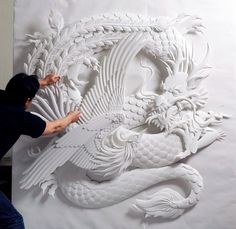 Jeff Nishinaka paper sculptures