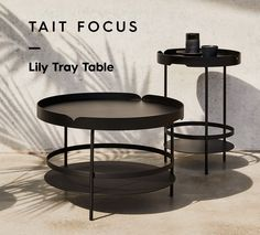 LILY TRAY Side Table Coffee Table OUTDOOR via Tait