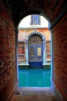Venice, Italy doorway