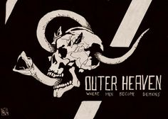 Metal Gear Art Studio - Outer Heaven by willrothart on DeviantArt