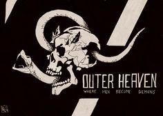 Metal Gear Art Studio - Outer Heaven by willrothart on DeviantArt