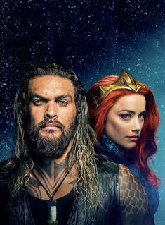 Aquaman and Mera Jason Momoa Aquaman, Dc Movies, Marvel Movies, Vampire Diaries, Top Superheroes, Aquaman 2018, Lex Luthor, Dc Comics Characters, Actrices Hollywood