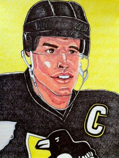 Hockey Playoffs, Nhl, Sidney Crosby, Stanley Cup, Pittsburgh Penguins, Olympics, Art Gallery, Artwork, Sports