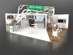 Conception stand d'exposition - Salon ECCMID
