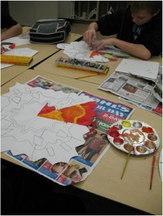 Color theory mandalas