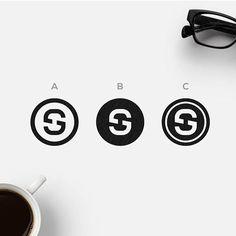"Polubienia: 68, komentarze: 4 – DesignTalks (@thedesigntalks) na Instagramie: ""S + G by @albabilham. Which one looks better? Visit bestfolios.com to get best new designer…"""