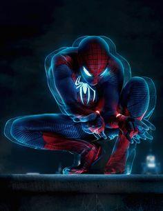 #Spiderman #Fan #Art. (Glow Spidey) By: Ehnony. (THE * 5 * STÅR * ÅWARD * OF: * AW YEAH, IT'S MAJOR ÅWESOMENESS!!!™)[THANK U 4 PINNING!!!<·><]<©>ÅÅÅ+(OB4E)