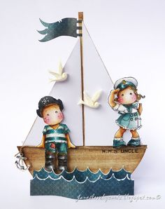 Magnolia-licious DT - Anchors Away! (Jane's Lovely Cards)