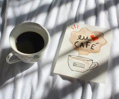 por pamisis  #diadocafe #coffee #café #artenoocio #illustration #ilustra #ilustração #aquarela #watercolor #euamocafé #ilovecoffee