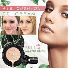 Purchase Yozaly™   Mushroom Head Air Quick Makeup, Free Makeup, How To Apply Makeup, Makeup Tips, Makeup Hacks, Makeup Routine, Hair Hacks, Cc Cream, Cakey Makeup