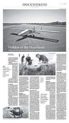 behance photos and layout on pinterest drones hidden in the heartland|epoch times newspaper editorialdesign