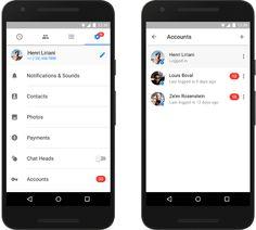 Facebook Messenger cho Android chính thức hỗ trợ sử dụng nhiều tài khoản