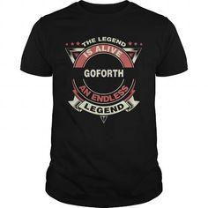 GOFORTH name tee shirts