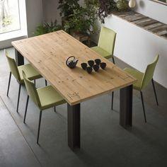 arredaclick - Tavolo con piano in legno massello Karpenter