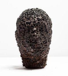 Kim Jotuni  Built up - sculpture, iron, wood, metal casting