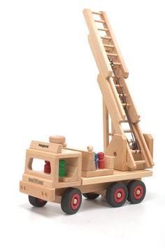 Wooden Fire Engine 1