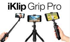 iKlip Grip Pro, selfie sticks, tripods, iphone accessories