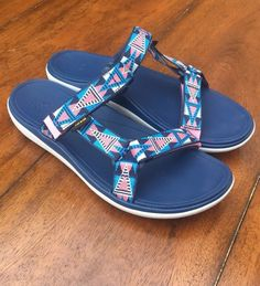6f02d21f931b0 Teva Sandal - Women s Size 7.5 - Multicolor  fashion  clothing  shoes   accessories  womensshoes  sandals (ebay link)