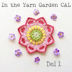 In the Yarn Garden: In the Yarn Garden CAL - Del1, varv 1-10
