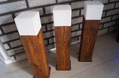 LAMPA OGRODOWA DREWNIANA LAMPA HANDMADE  LAMPY LED RGB GARDEN LIGHTS WOODEN GARDEN LIGHTS LAMPY OGRODOWE DREWNIANE  OŚWIETLENIE OGRODOWE TEL. 601282662