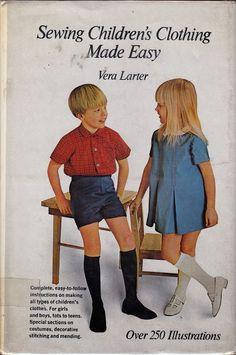 Hoarding is not collection development 1960s Fashion, Fashion Sewing, Moda Vintage, Vintage Sewing, Kids Fashion Boy, Girl Fashion, Mens Fashion, Boys Short Suit, Bebe