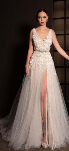 Wedding dress idea; Featured Dress: Anna Georgina